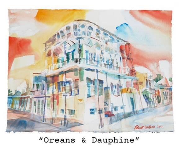 """""""Oreans & Dauphine"""" Guthrie. Rinard Gallery"""