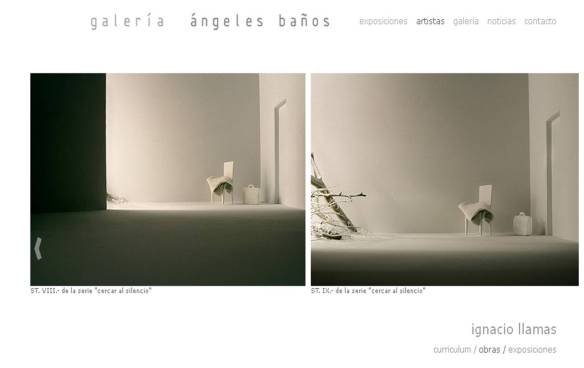 galería de arte de angeles baños, badajoz- decoracio sevilla- pintor, escultor y fotógrafo ignacio llamas