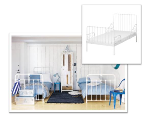 cama hierro dormitorio infantil-decoracion sevilla
