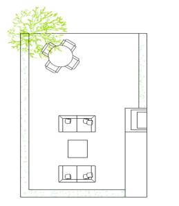 decoracion online-diseño jardin-decoracoin sevilla