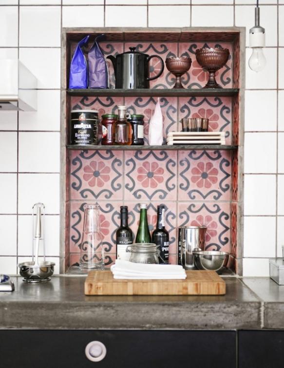 decoracionfacilisimo-decorar con hidraulicos-decoracion sevilla-estanteria de cocina