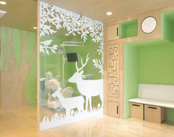 Clinica dental para niños-clinica de diseño-decoracion sevilla-decoracion de clinicas